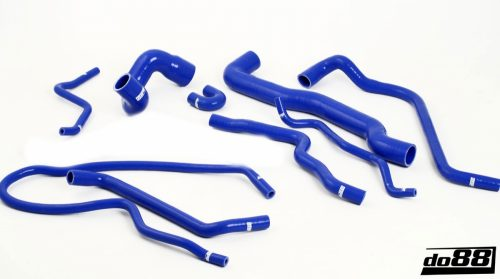 SAAB 9-3 TURBO T7 99-03 COOLANT HOSES, Blue Hoses