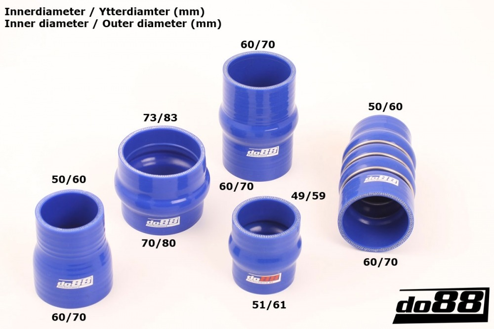 SAAB 900 TURBO 84-93 PRESSURE HOSES - Blue